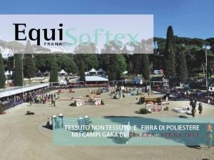 Equisoftex a Piazza di Siena